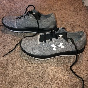 Under Armour Sock Tennis Shoes